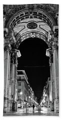 Lisbon - Portugal - Triumphal Arch - Rua Augusta Hand Towel