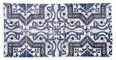 Lisbon Tile Superstar Hand Towel