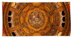 Lisieux St Therese Basilica Dome Ceiling Bath Towel