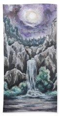 Listen To The Echoes II Hand Towel