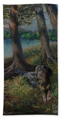 Listening To The Tales Of The Trees Bath Towel