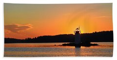 Lit By The Sun Hand Towel