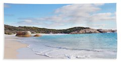 Bath Towel featuring the photograph Little Beach, Australia by Ivy Ho