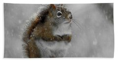 Little Begger Hand Towel by Betty-Anne McDonald