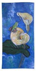 Little Bird Hand Towel by Ella Kaye Dickey