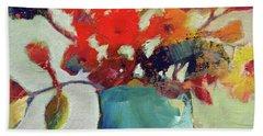 Little Bouquet Hand Towel by Michelle Abrams