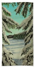 Little Brook Cove Hand Towel