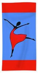 Little Dancer Hand Towel