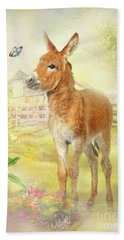 Little Donkey Hand Towel