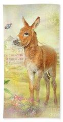 Little Donkey Bath Towel