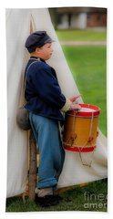 Little Drummer Boy Bath Towel