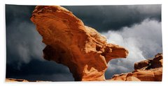 Bath Towel featuring the photograph Little Finland Nevada 8 by Bob Christopher