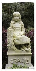 Little Gracie Bonaventure Cemetery Hand Towel