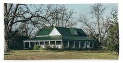 Bath Towel featuring the photograph Little House On The Prairie by Kim Hojnacki