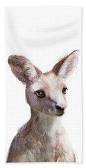 Little Kangaroo Bath Towel
