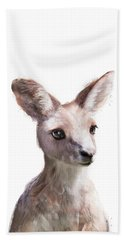 Little Kangaroo Hand Towel