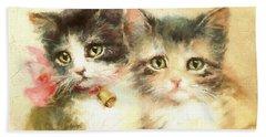 Little Kittens Bath Towel
