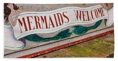 Little Mermaids Hand Towel