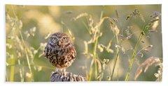Little Owl Big World Hand Towel