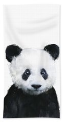 Little Panda Hand Towel