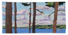 Little Rideau Lake Hand Towel