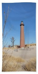 Little Sable Point Lighthouse Hand Towel