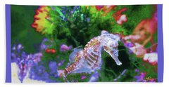 Little Sea Horse Hand Towel