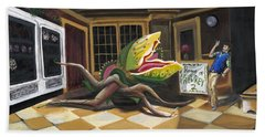Little Shop Of Horrors Bath Towel