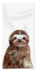 Little Sloth Bath Towel