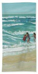 Little Surfers Bath Towel
