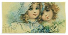 Little Sweethearts 6 Bath Towel by Reynold Jay