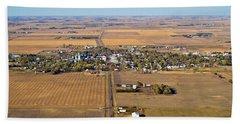 Little Town On The Prairie Bath Towel
