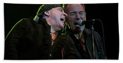 Bath Towel featuring the photograph Live At The Paramount by Jeff Ross