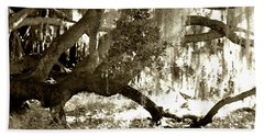 Bath Towel featuring the photograph Live Oak by D Renee Wilson