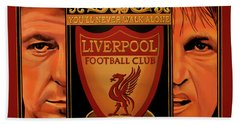 Liverpool Painting Hand Towel
