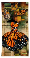 Bath Towel featuring the mixed media Living A Life With No Boundaries by Marvin Blaine