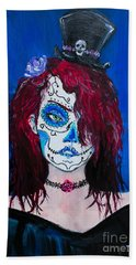 Living Dead Girl Hand Towel