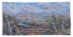 Living Desert Broken Hill Bath Towel