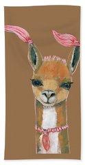 Llama Hand Towel