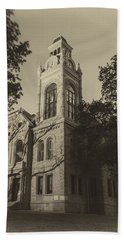Llano County Courthouse - Vintage Hand Towel
