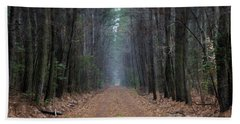 Bath Towel featuring the photograph Loblolly Lane by Robert Geary