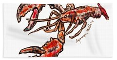Lobster Hand Towel