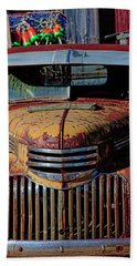 Lobster Pots And Chevys Hand Towel