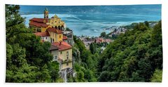 Locarno Overview Bath Towel by Alan Toepfer