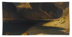 Loch Avon And The Cairngorm Mountains Hand Towel