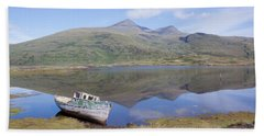 Loch Beg Reflections Hand Towel