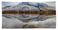 Loch Etive Reflection Hand Towel