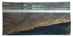 Loch Linnhe Reflection Bath Towel