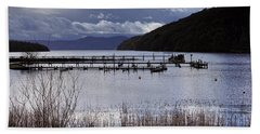Bath Towel featuring the photograph Loch Lomond by Jeremy Lavender Photography
