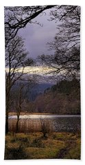 Bath Towel featuring the photograph Loch Venachar by Jeremy Lavender Photography